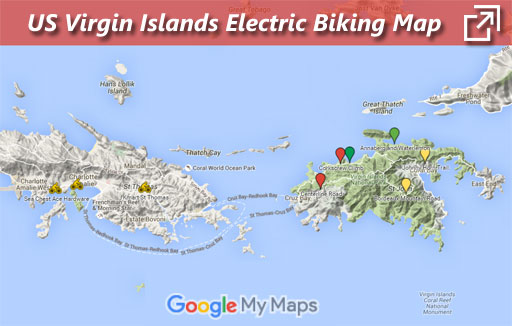 USVI Ebikers Map